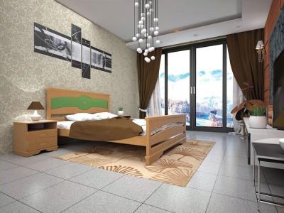 Кровать деревянная «Атлант 6» (ТИС)