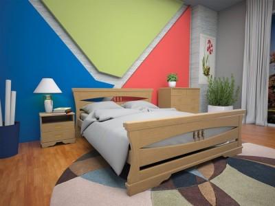 Кровать деревянная «Атлант 8» (ТИС)