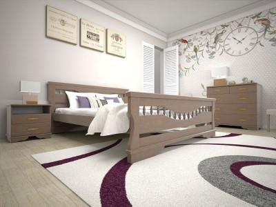 Кровать деревянная «Атлант 10» (ТИС)