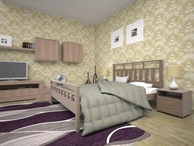 Кровать деревянная «Виано» (ТИС)