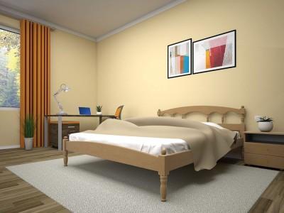 Кровать деревянная «ОМЕГА 2» (ТИС)