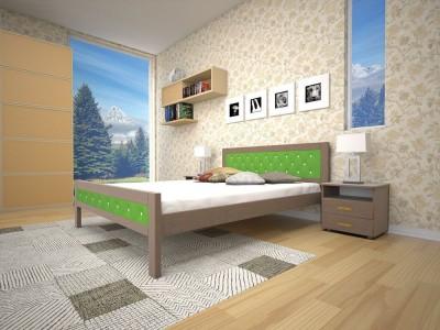 Кровать деревянная «Модерн 6» (ТИС)