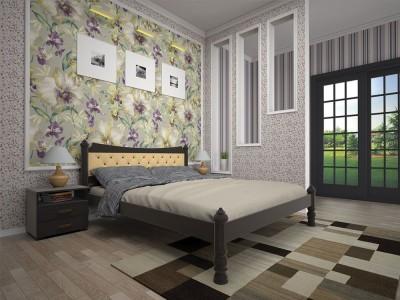 Кровать деревянная «Модерн 7» (ТИС)