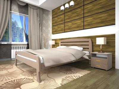 Кровать деревянная «Новая 2» (ТИС)