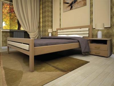 Кровать деревянная «Модерн 1» (ТИС)