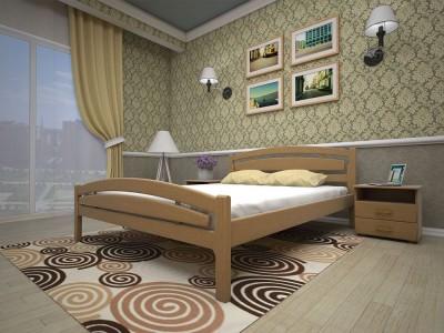 Кровать деревянная «Модерн 2» (ТИС)