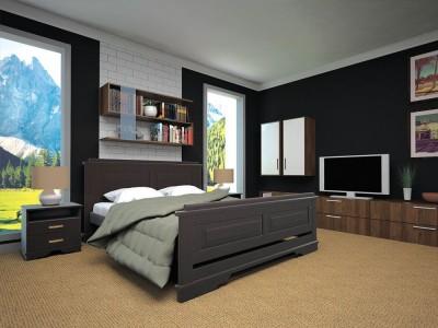 Кровать деревянная «Атлант 12» (ТИС)