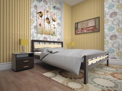 Кровать деревянная «Модерн 3» (ТИС)