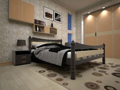 Кровать деревянная «Модерн 4» (ТИС)