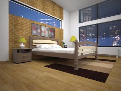 Кровать деревянная «Модерн 5» (ТИС)