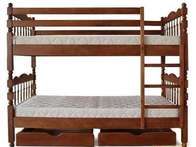 Двухъярусная кровать «Трансформер 2» (Тис)
