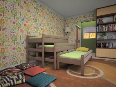 Кровать 3 в 1(ТИС)