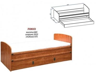 Кровать «Валенсия» (Мебель-Сервис)