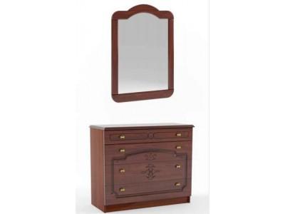 Комод с зеркалом Каролина (Сокме)