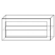 Шкаф-витрина 100 /450
